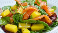 Mango Salad with Smoked Salmon Recipe