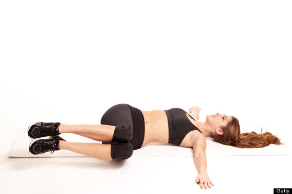 Two Knee Twist - - 6 Stretching Exercises to Relieve Lower Back Pain